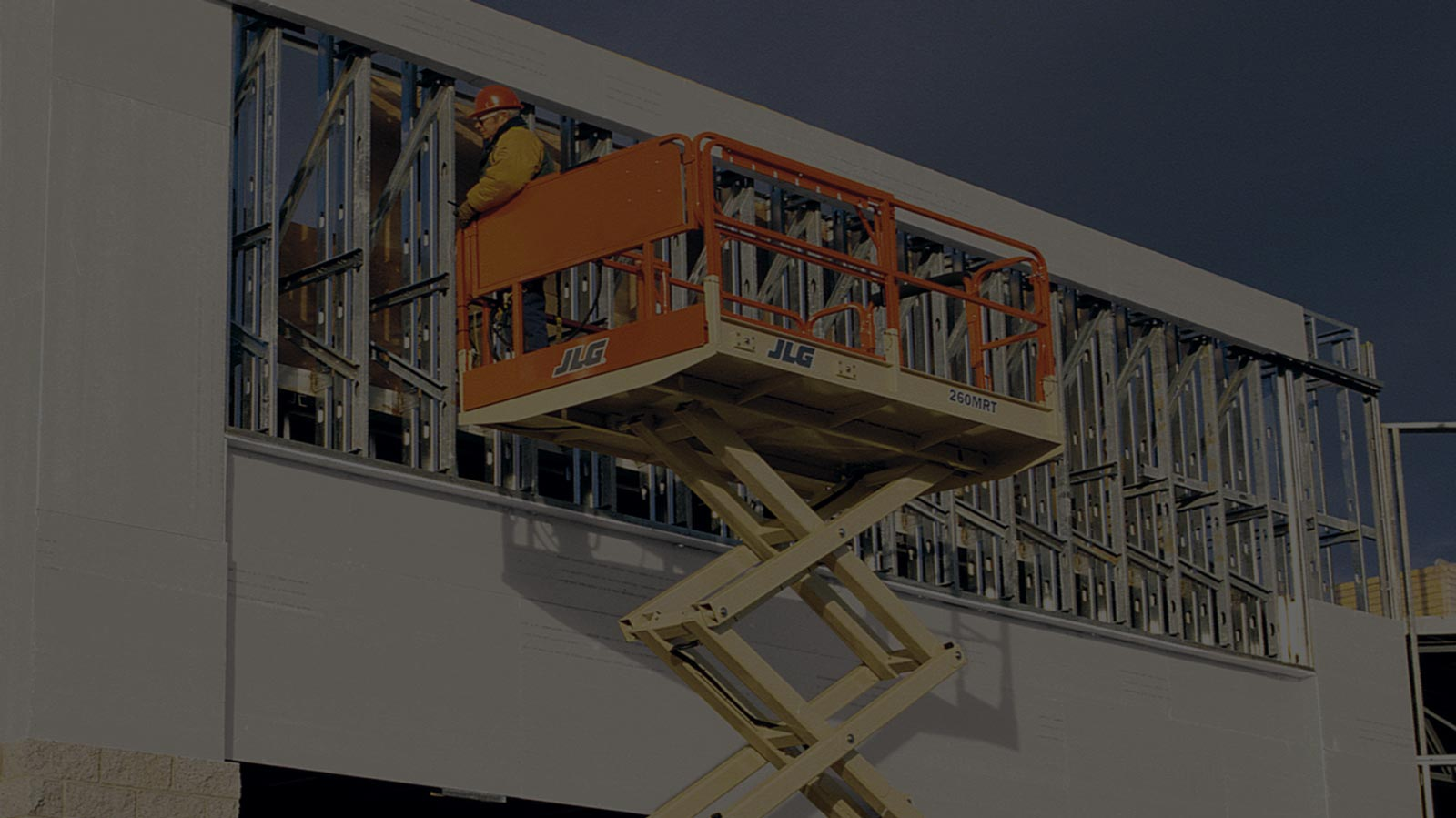 jlg scissor lift background